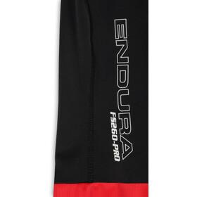 Endura FS260-Pro Spodenki na szelkach Mężczyźni, red